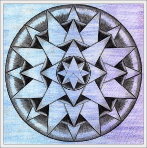 Mandala 2 - Life Book 2012, week 39