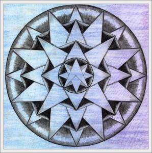 Mandala 2 - Life Book 2012, week 39