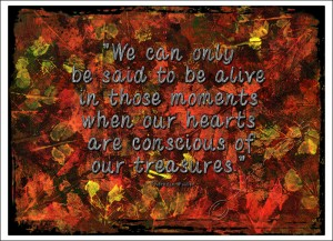 """""""We can only... """""""