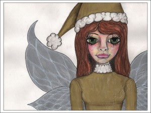 Christmas Angel - Painted