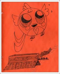 Doll Bird Doodle