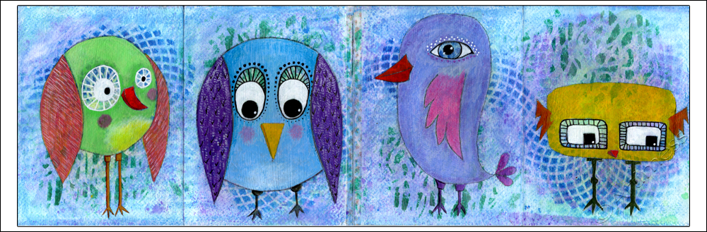 Quirky Birds - Life Book 2013, Week 14
