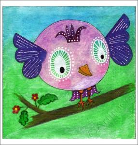 Quirky Bird Freda