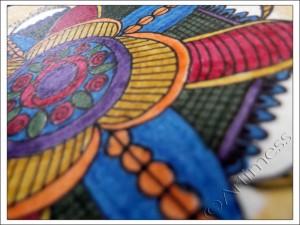 Postcard #9 - iHanna's Postcard Swap 2013