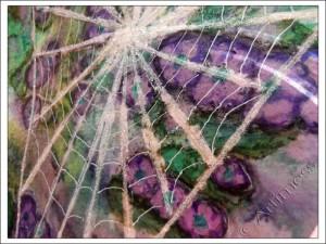 Sparkly Spider Web Detail - 21 secrets 2013, Dion Dior's Class