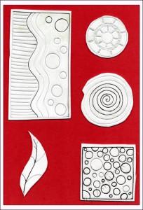 Funky Foam Stamps
