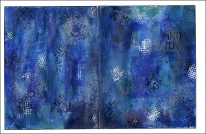 Blues Journal Background Page