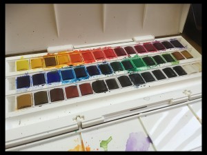Windsor and Newton Water Colour Paints